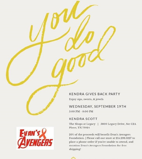 Kendra Scott Gives Back Party!