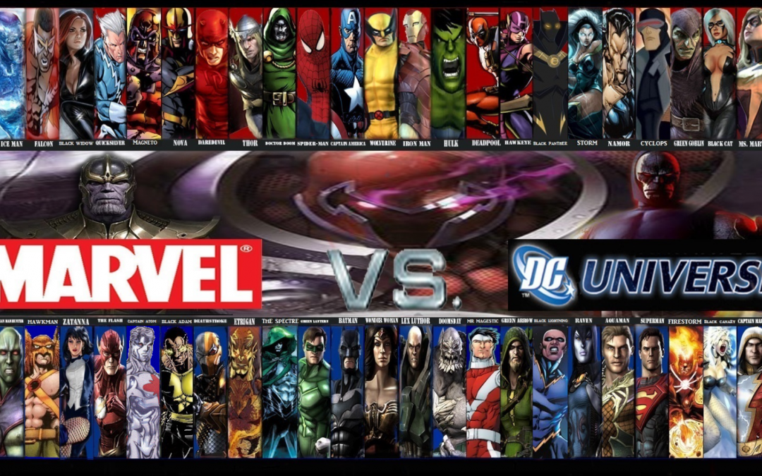 1st Annual Marvel vs DC Family Event